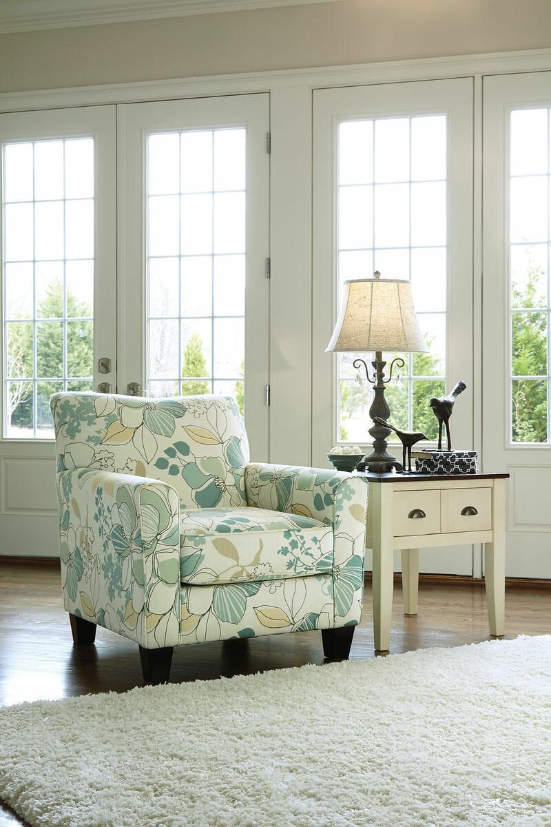 Genial Daystar   Seafoam   Accent Chair