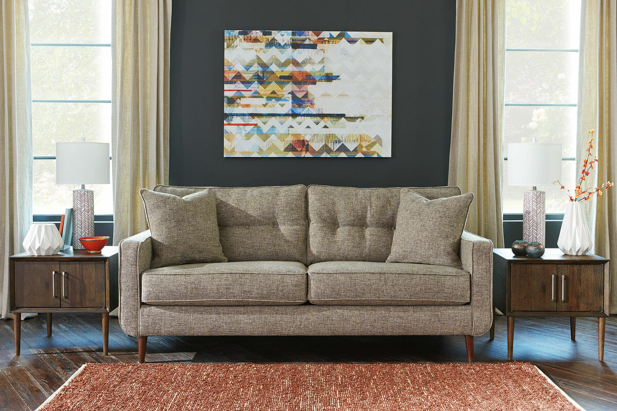 new product 5d071 cf514 Chento - Jute - Sofa, Loveseat, Kisper Cocktail Table & End Table