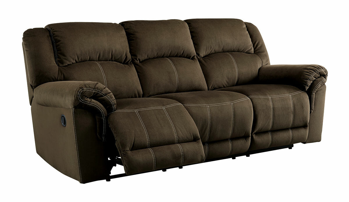 Quinnlyn Coffee 6 Pc Reclining Sofa Reclining