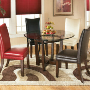 Charrell U2013 Medium Brown U2013 Round Dining Room Table