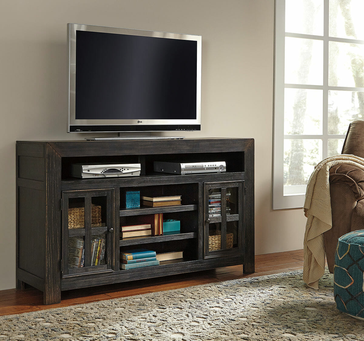 Homestore Gallery: LG TV Stand W/Fireplace Option