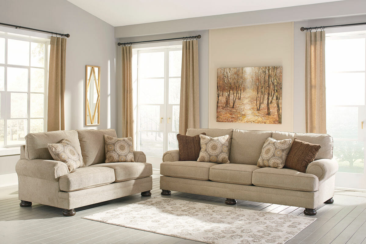 Remarkable Quarry Hill Quartz Sofa Loveseat Lamtechconsult Wood Chair Design Ideas Lamtechconsultcom