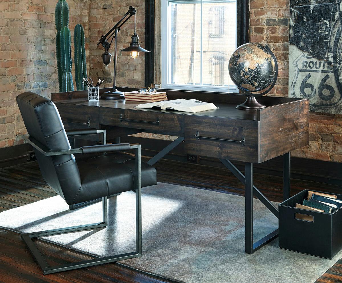 Starmore Office Desk Chair Nikhil Medium Rug Nc Gallery Furniture