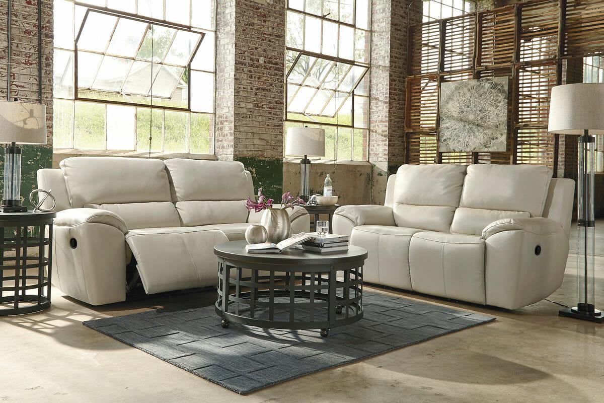 2 Seat Reclining Sofa, Reclining