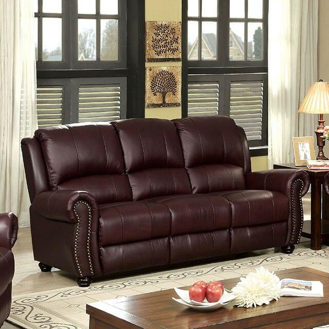 America Turton Leather Sofa Nc